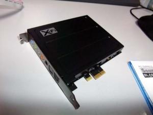 SB X-Fi Titanium PA